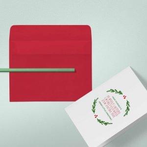 Coronavirus Christmas Card